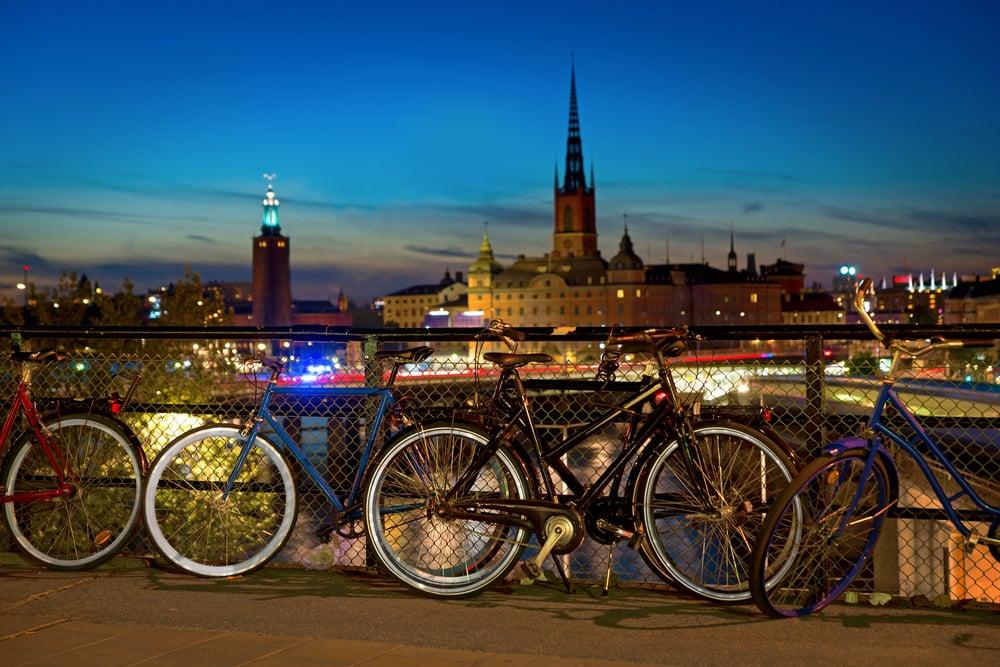 Slussen - Stockholm i Sverige