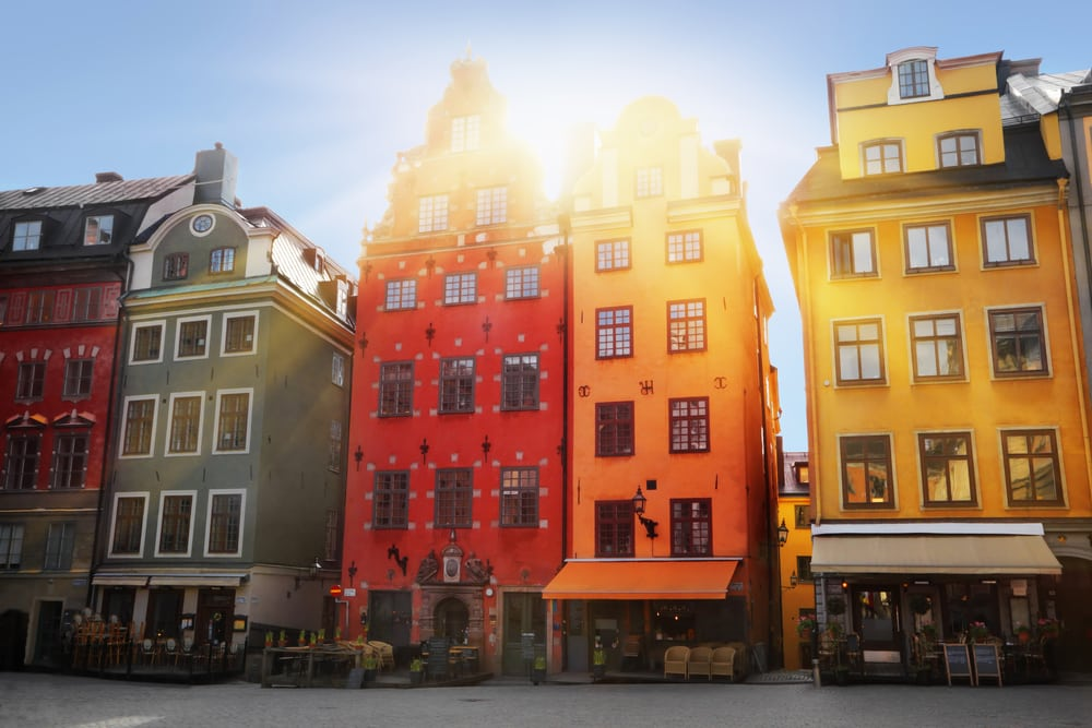 Stortorget - Stockholm i Sverige