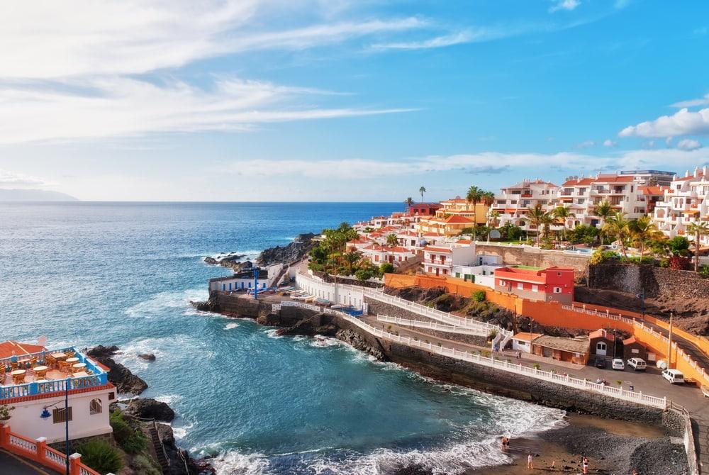 Puerto Santiago - Tenerife i Spanien