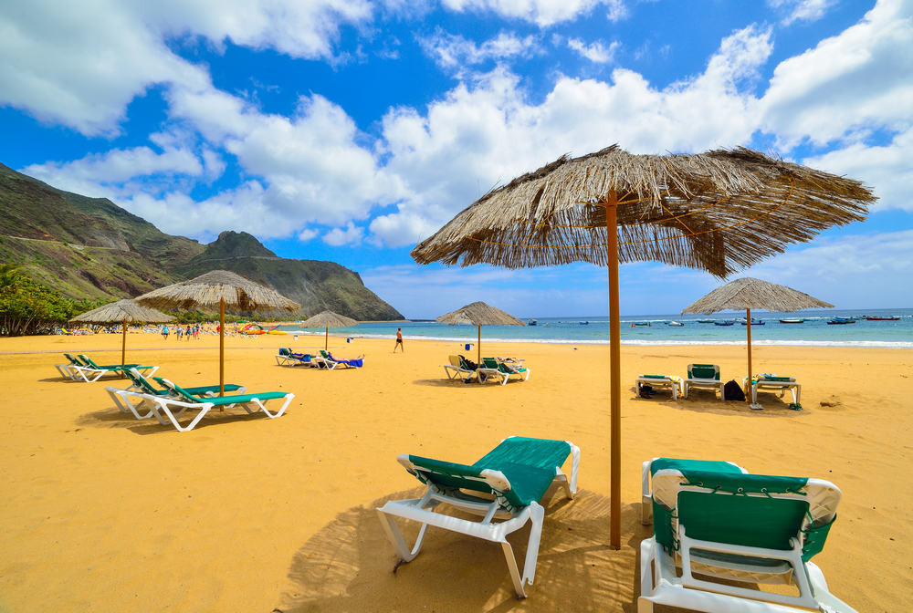 Teresitas - Tenerife i Spanien