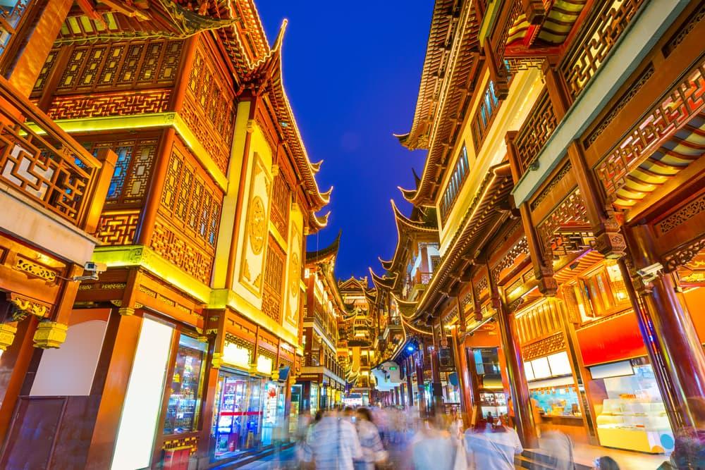 Yuyuan District - Shanghai i Kina