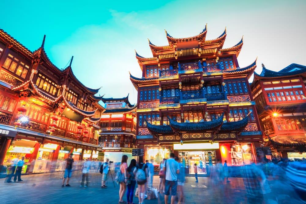 Yuyuan Garden - Shanghai i Kina