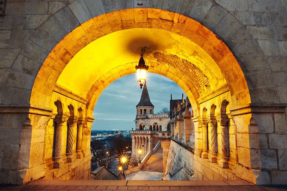Budapest i Ungarn