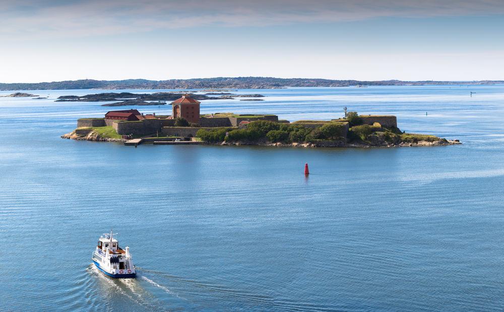Elfsborg fortet - Göteborg i Sverige
