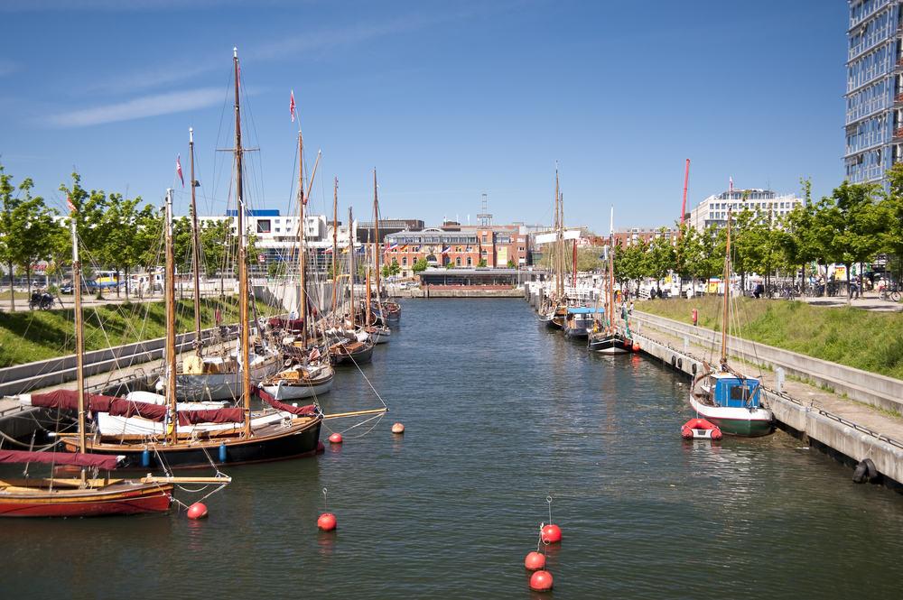 Havnen - Kiel i Tyskland