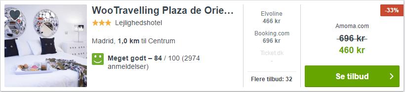 Wootravelling Plaza - Hotel i Madrid i Spanien