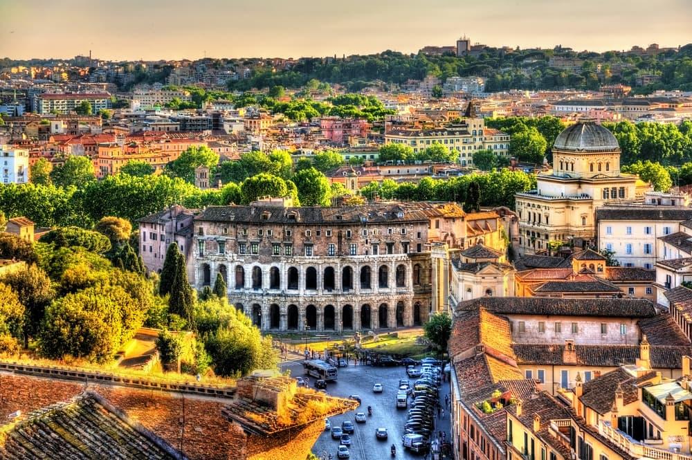Marcellus Teatret - Rom i Italien