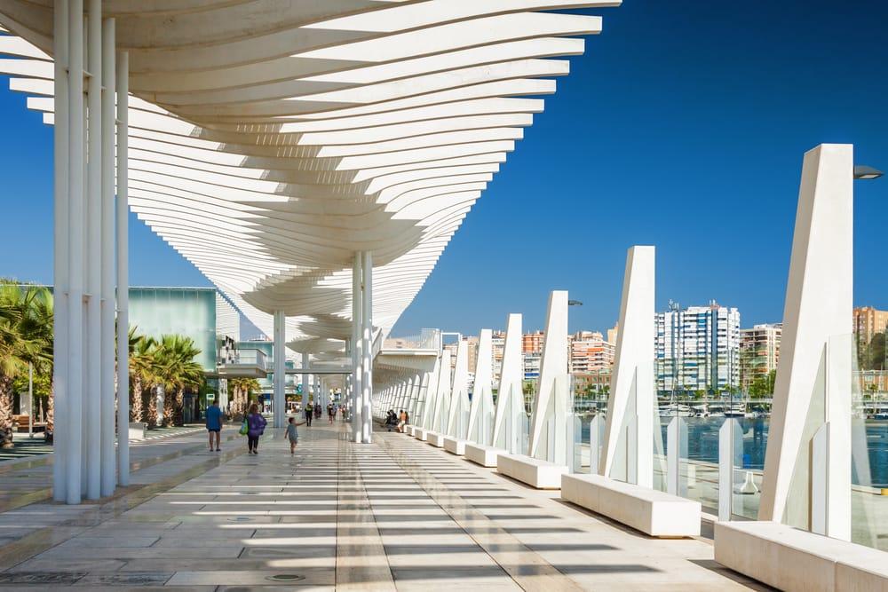 Promenade i Malaga