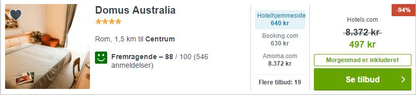 Hotel Domus Australia - Rom i Italien