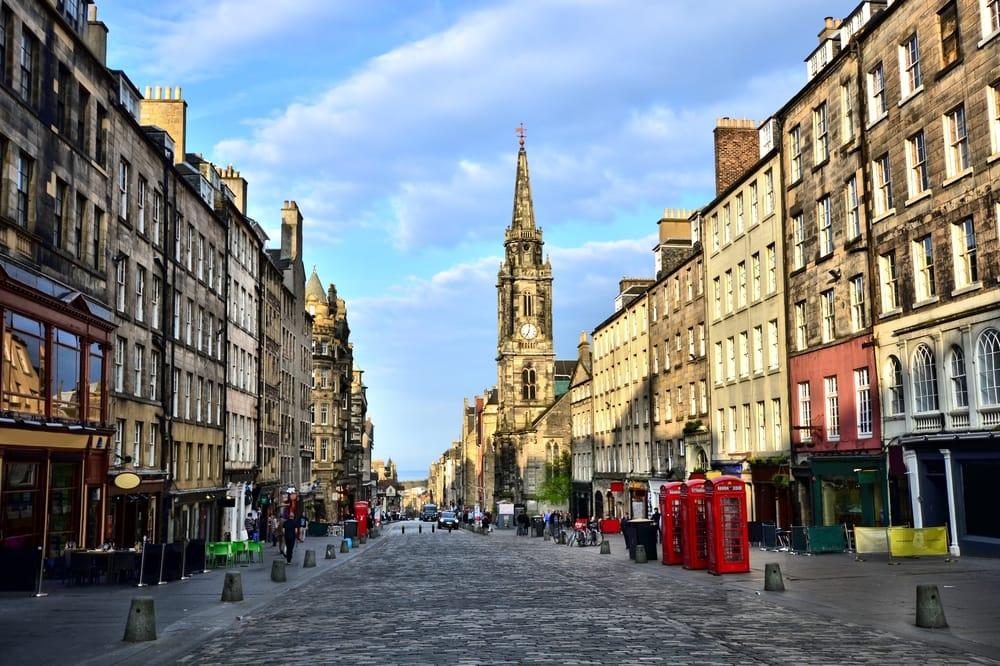 Royal Mile - Edinburgh i Skotland