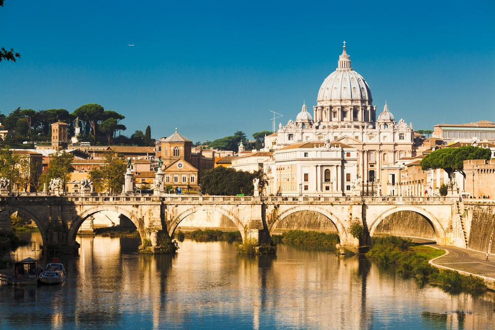 Sankt Peterskirken - Rom i Italien