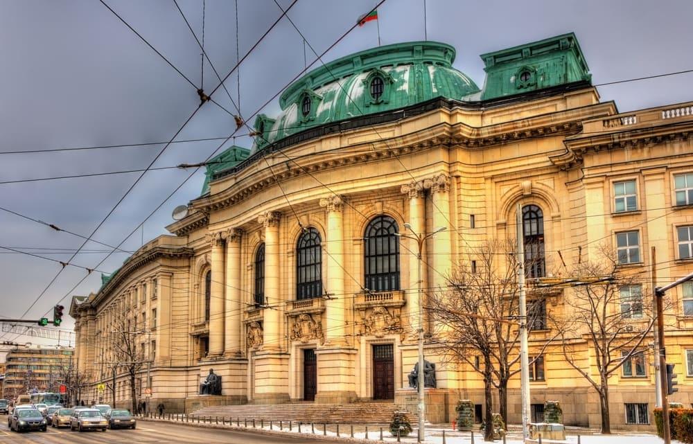 Sofias Universitet - Sofia i Bulgarien