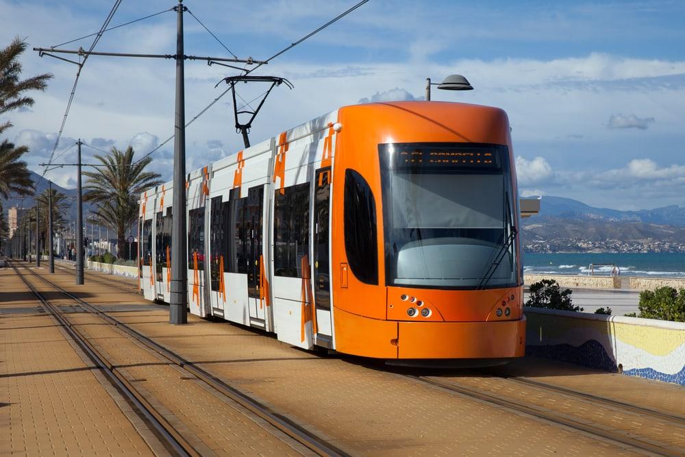 Sporvogn - Alicante i Spanien