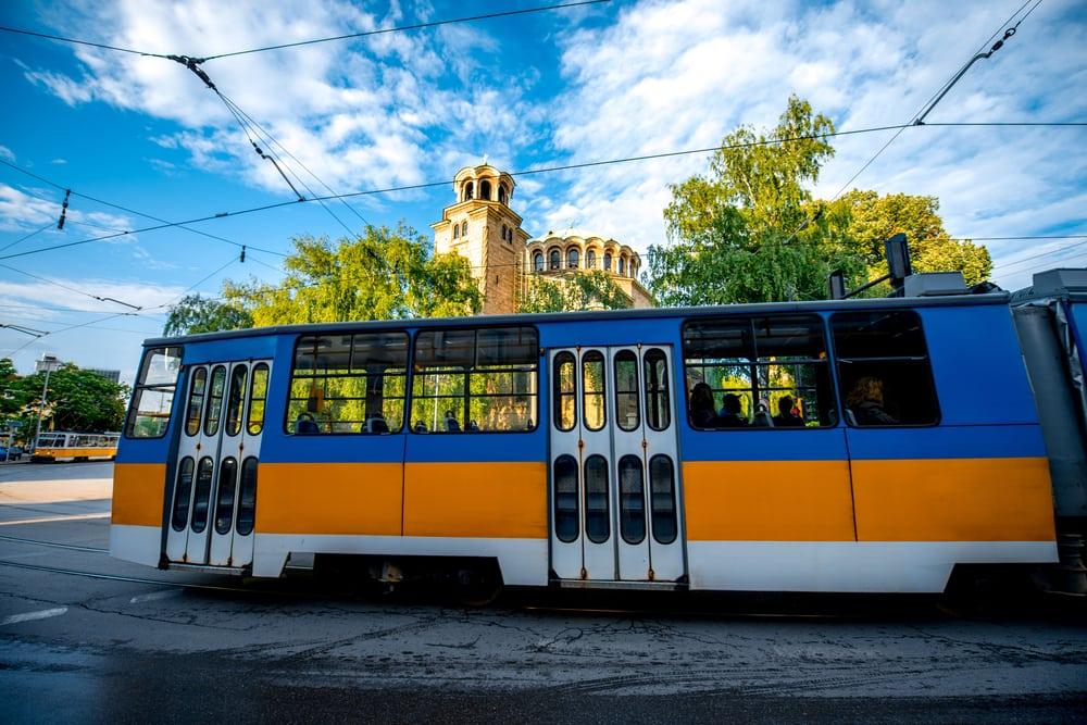 Sporvogn - Sofia i Bulgarien