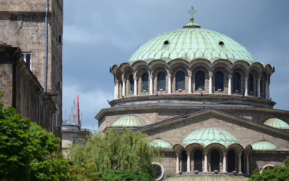 Sveta Nedelya Kirken - Sofia i Bulgarien