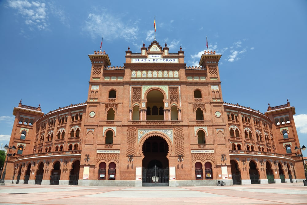Tyrefægterarena - Madrid i Spanien