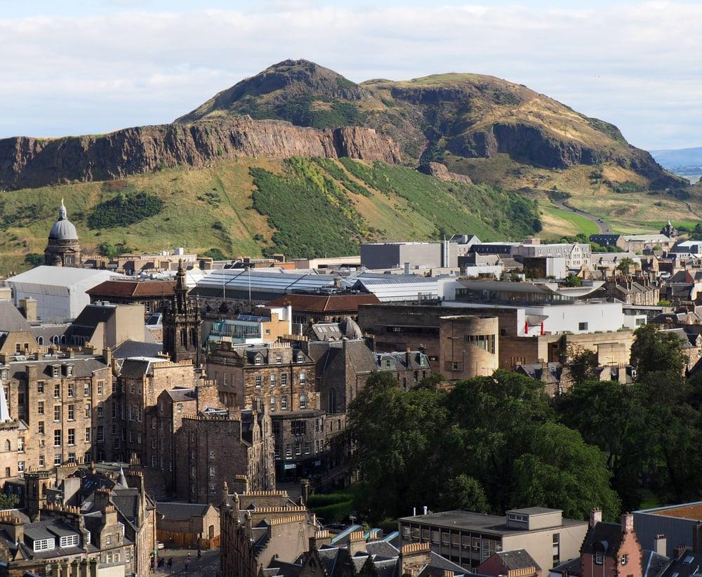 Arthurs Seat - Edinburgh i Skotland