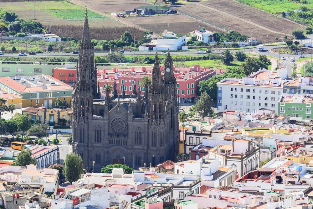 Arucas kirken - Gran Canaria i Spanien