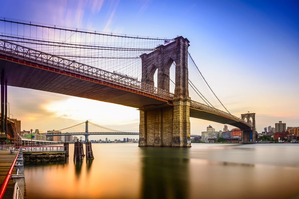 Brooklyn Bridge - New York City i USA