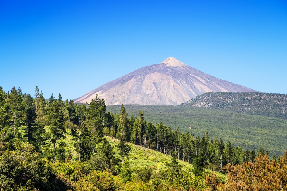 El Teide Nationalpark - Tenerife i Spanien