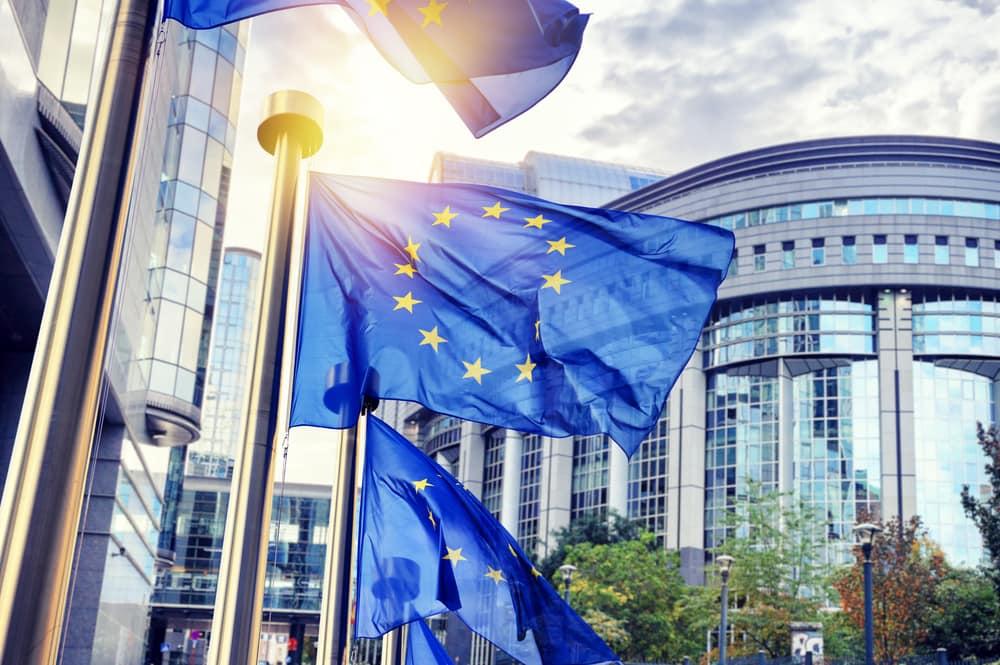Europa Parlamentet - Bruxelles i Belgien
