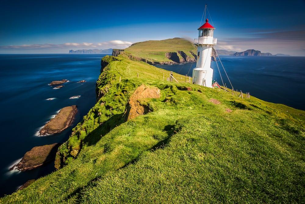 Fyrtårn på Færøerne