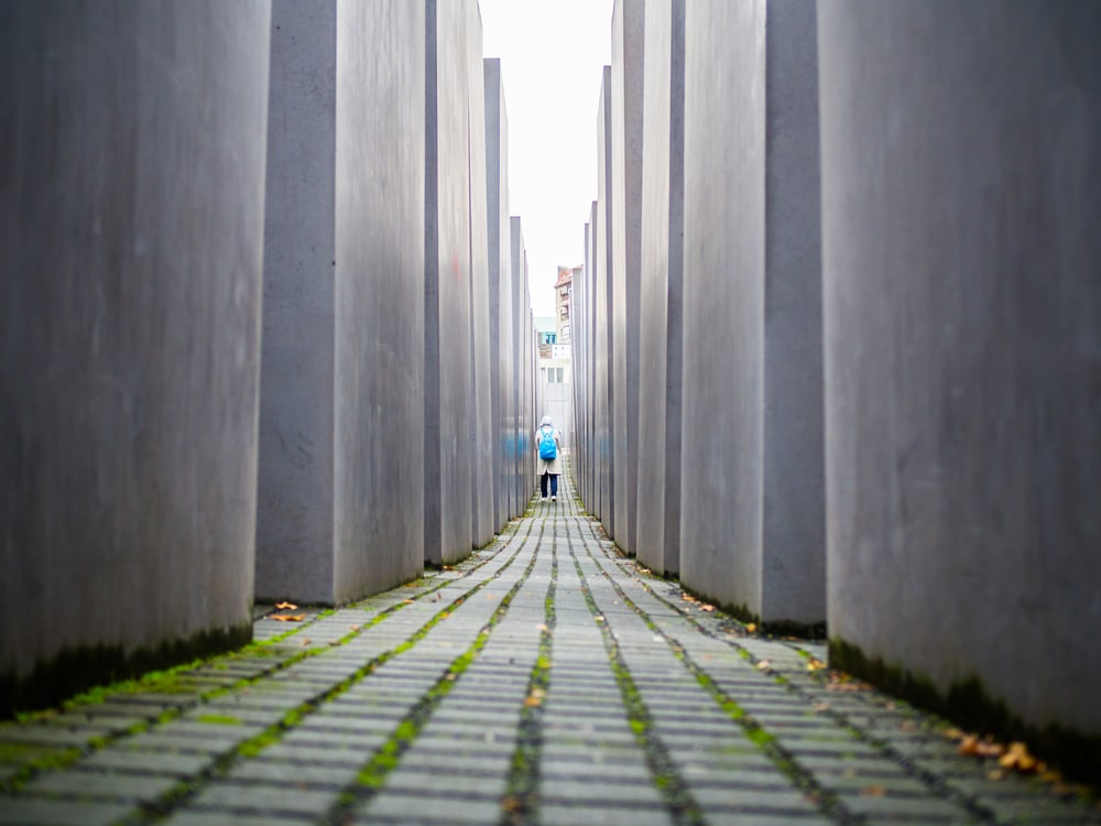 Holocaust monumentet - Berlin i Tyskland