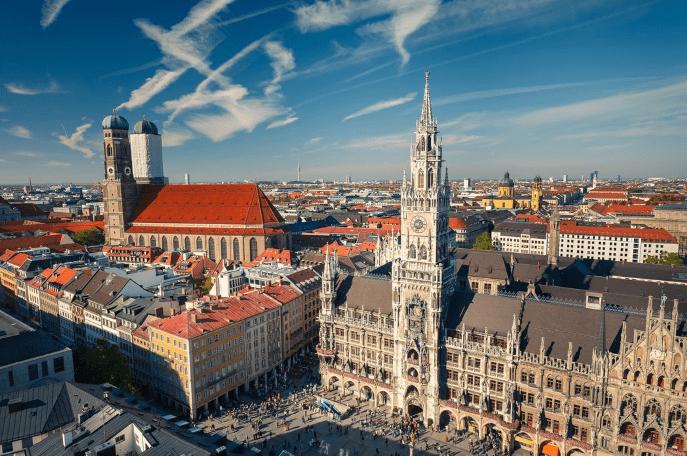 München i Tyskland