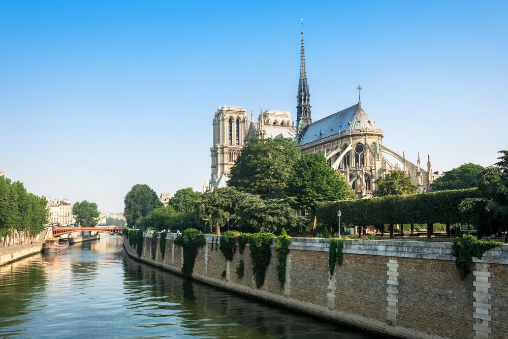 Notre Dame katedralen - Paris i Frankrig