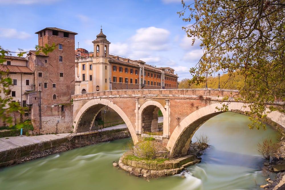 Ponte Fabricio - Rom i Italien