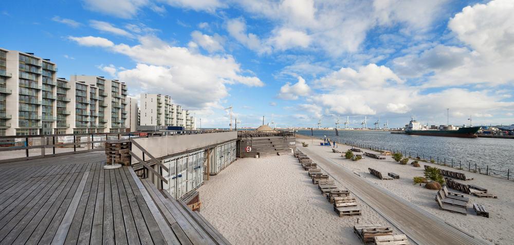 Strand i Aarhus