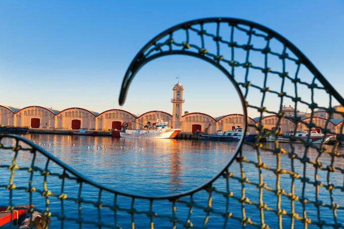Valencia havn - Spanien