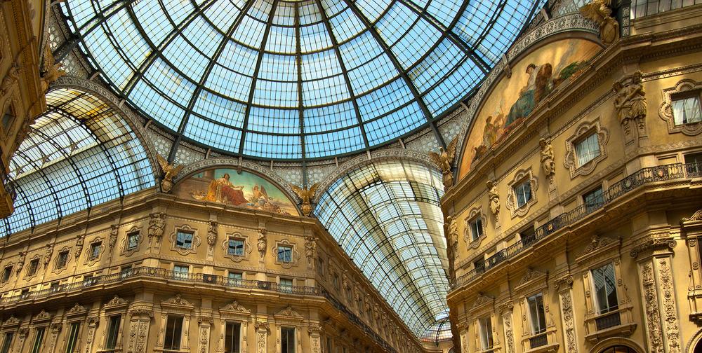 Vittorio Emanuele II - Shoppingcenter i Milano i Italien
