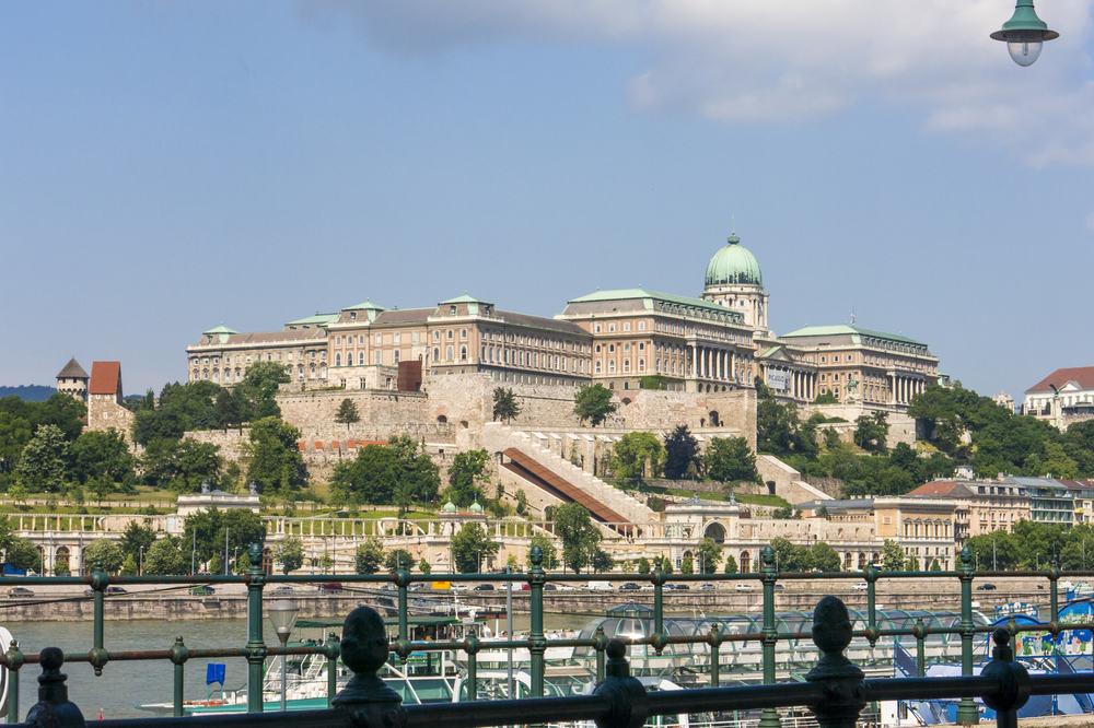Buda Slot - Budapest i Ungarn