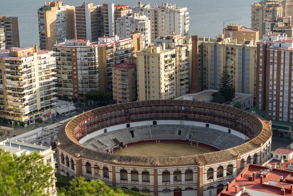 Corrida - Malaga i Spanien
