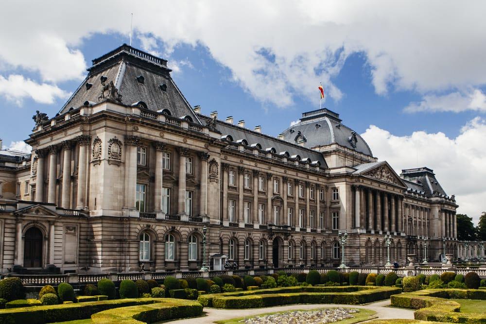Det kongelige palads - Bruxelles i Belgien