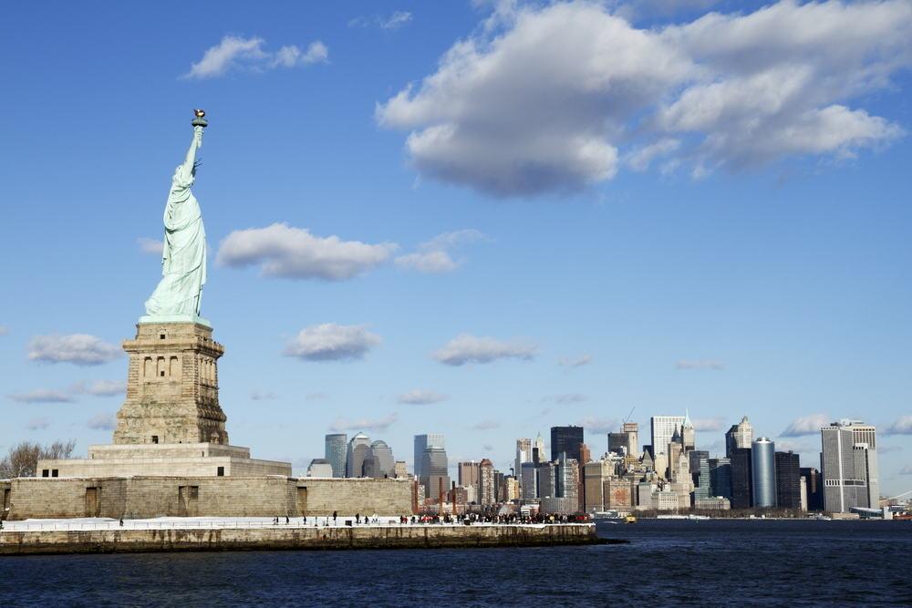 Frihedsgudinden - New York City i USA