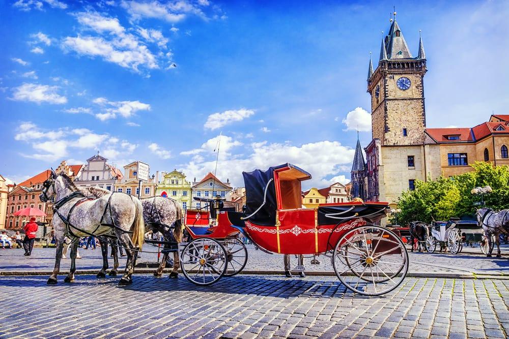 Hestevogn - Prag i Tjekkiet