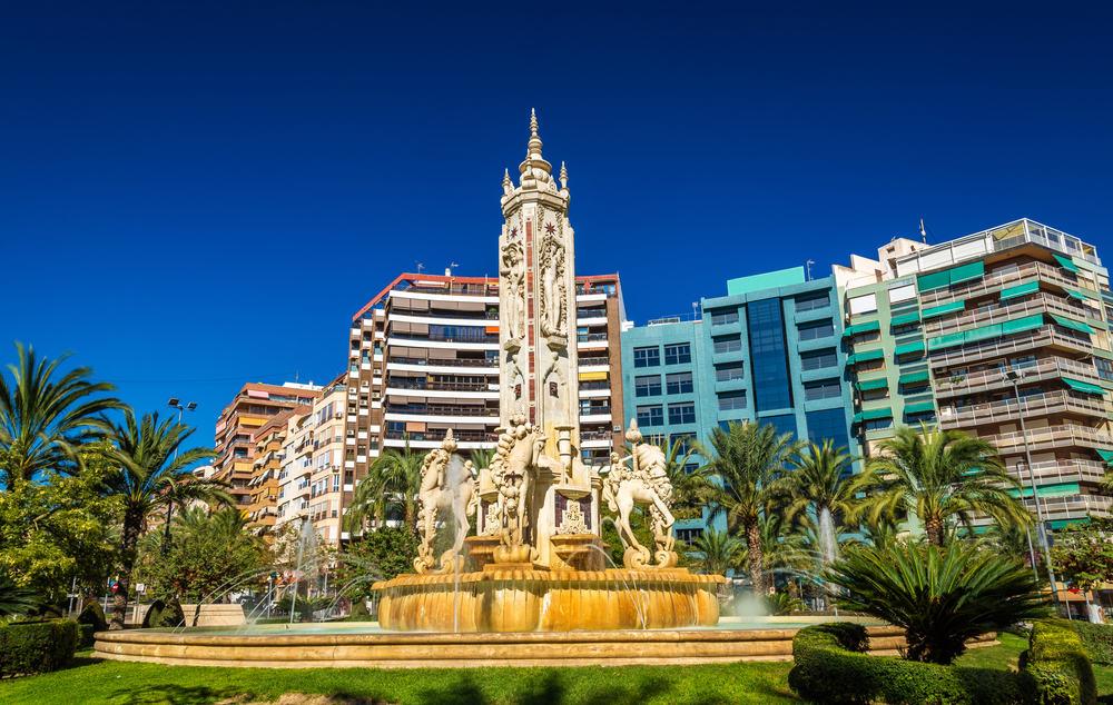 La Fuente de Levante - Alicante i Spanien