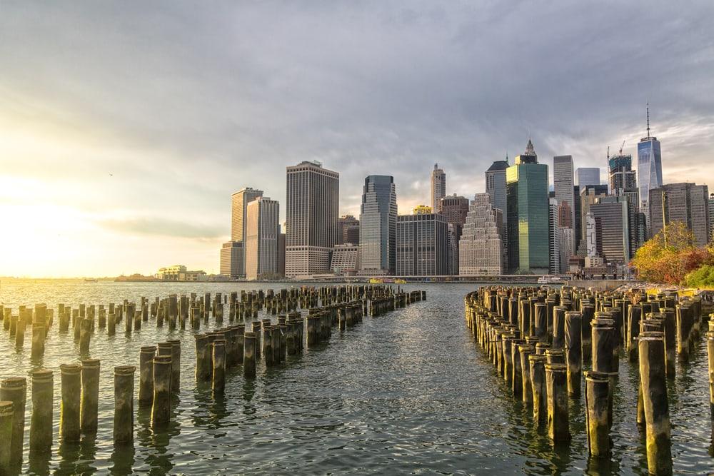 Lower Manhattan - New York City i USA