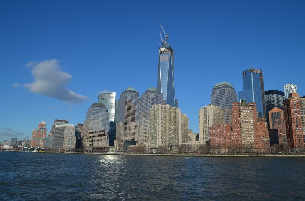 New York City med Freedom Tower i baggrunden