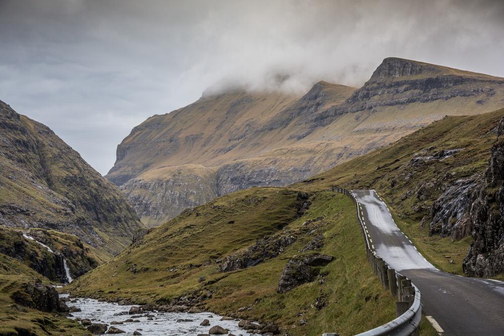 Smuk natur på Færøerne