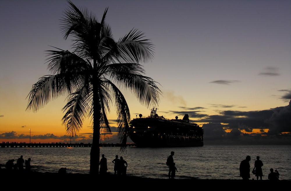 Solopgang - Sankt Croix på Jomfruøerne