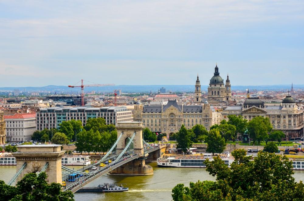 Sommer i Budapest