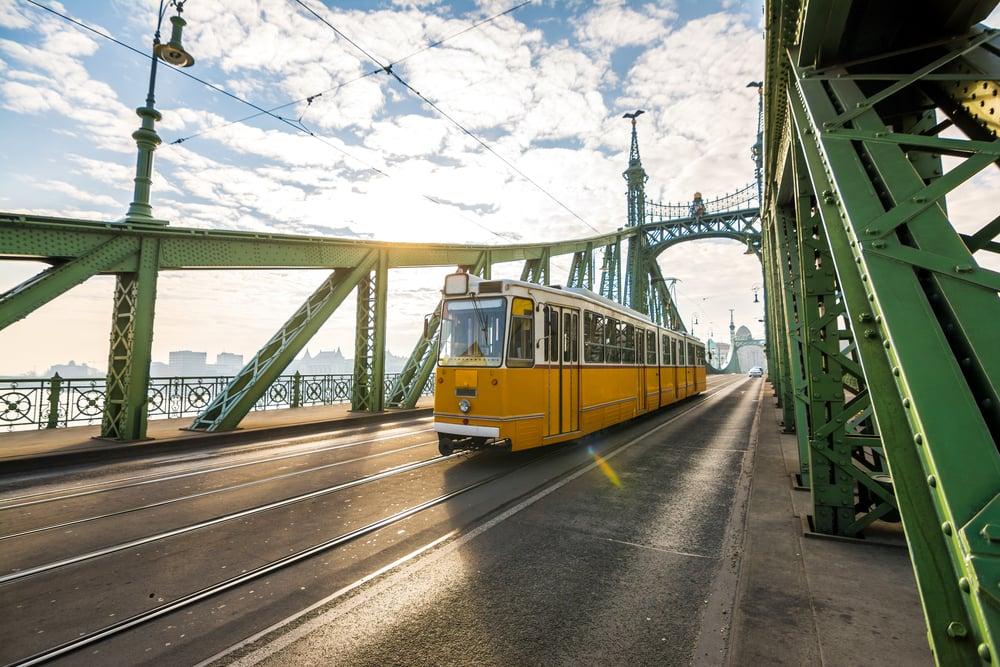 Sporvogn - Budapest i Ungarn