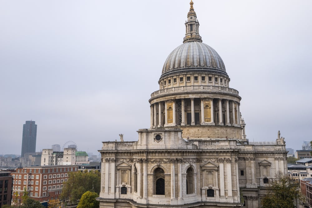 St Paul's Cathedral - London i England