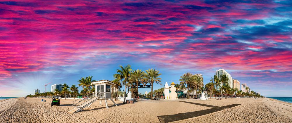 Strand - Fort Lauderdale i Florida