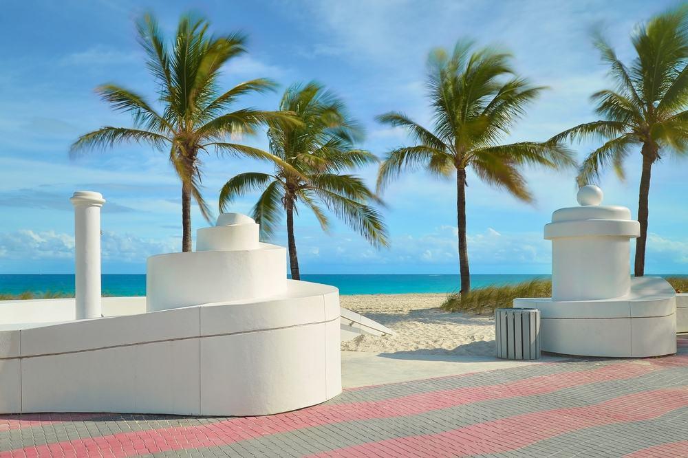 Sunrise Beach - Fort Lauderdale i Florida