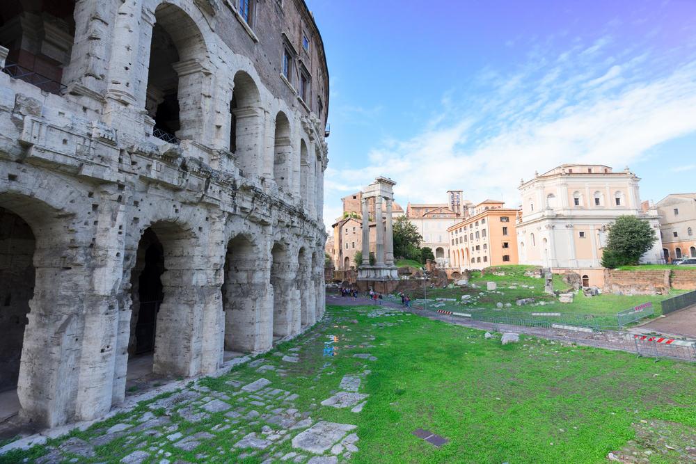 Teatro Marcelo - Rom i Italien