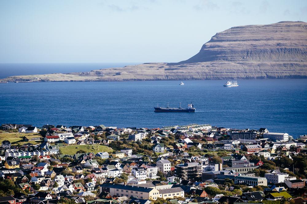 Thorshavn på Færøerne